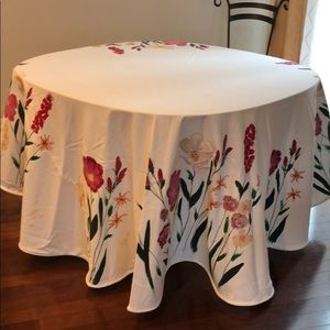 Hand Painted Tablecloth